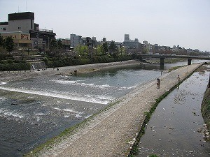 River view in Kyoto