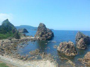 Honshu western coast