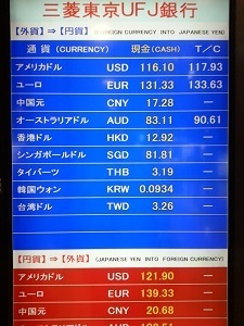 Narita Exchange Board2