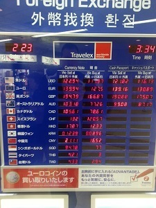 Narita Exchange Board