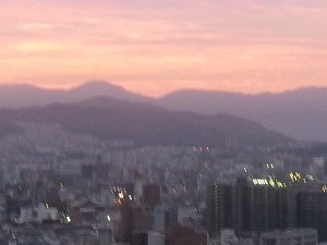 Hiroshima sunrise