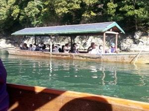 Boats at Arashiyama